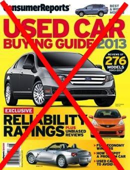 No Consumer Reports
