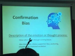 Confirmation Bias slide