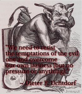Temptations of the Evil One Meme