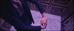 Secret handsign taught in the LDS temple